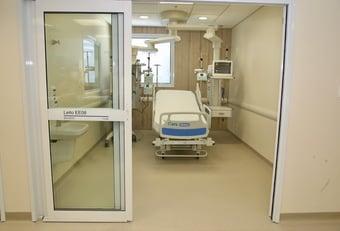 IMAGEM: Covid: hospitais privados de SP têm 80% dos leitos de UTI vagos