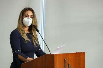 IMAGEM: Flávia Arruda entra na mira da CPI da Covid