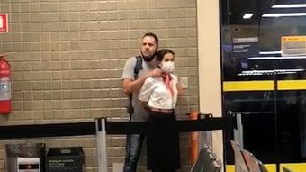 IMAGEM: Homem é preso após fazer funcionária da GOL refém no Aeroporto de Guarulhos