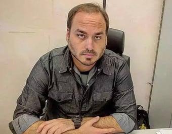 IMAGEM: CPI da Covid: Renan inclui Carluxo e Eduardo Bolsonaro na lista de indiciados