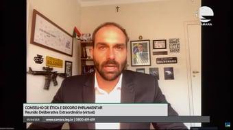 IMAGEM: Relator vota para arquivar processo contra Eduardo Bolsonaro por 'novo AI-5'