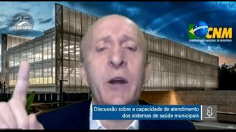 """IMAGEM: Líder de prefeitos critica governo federal no combate à pandemia: """"Está faltando coordenação"""""""
