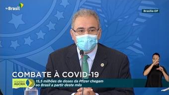 IMAGEM: Queiroga anuncia importação de oxigênio do Canadá
