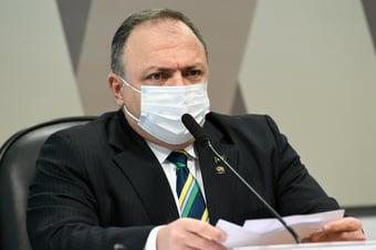 IMAGEM: MPF processa Pazuello por omissão na compra de vacinas