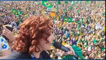 IMAGEM: CPI da Covid deve ignorar protestos a favor do governo, apesar das aglomerações