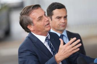 IMAGEM: 'Gordinho ditador', diz Bolsonaro, sobre Flávio Dino