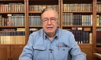 IMAGEM: PF intimou Olavo a depor sobre milícias digitais, mas defesa pediu adiamento
