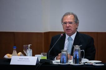 IMAGEM: Guedes diz acreditar em aprovação da reforma tributária até o fim do ano