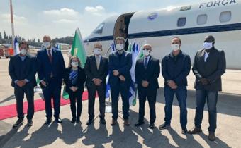 IMAGEM: Na viagem do 'spray milagroso', Netanyahu cobrou do Brasil investimento no setor cibernético