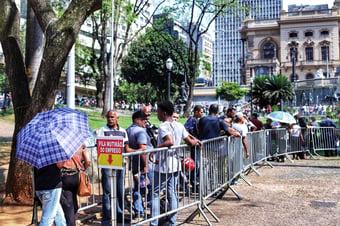 IMAGEM: Taxa de desemprego em julho surpreende positivamente o mercado