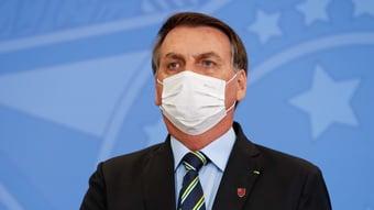 IMAGEM: PGR pede novamente que STF arquive ação contra Bolsonaro por não usar máscara