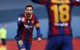 IMAGEM: Messi no PSG