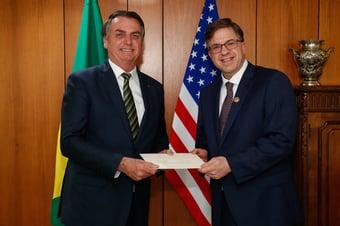 """IMAGEM: """"Nossa postura em relação às conversas climáticas com o Brasil não mudou"""", diz embaixada dos EUA"""