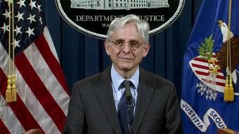 IMAGEM: Departamento de Justiça dos EUA anuncia ter prendido 500 por ataque ao Capitólio