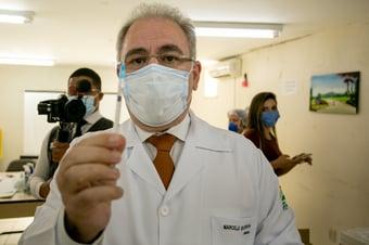 IMAGEM: Queiroga diz que há 'consenso' sobre ineficácia da cloroquina em ambiente hospitalar
