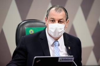 """IMAGEM: Aziz: """"O senhor virou advogado dele, Marcos Rogério?"""""""