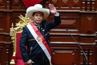 """IMAGEM: """"Minha suspeita é de que a intenção de Castillo seja seguir Venezuela"""""""