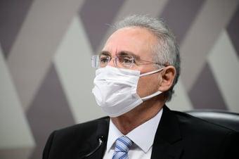 """IMAGEM: """"Não estamos aqui para bater palma pra doido"""", diz Renan"""