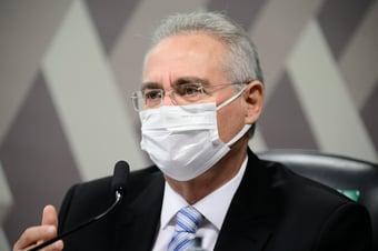 """IMAGEM: """"Presença dele é importante"""", diz Renan, sobre Braga Netto"""