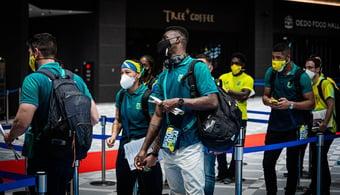 IMAGEM: Brasil vai a Tóquio com 75% dos atletas vacinados; alguns recusaram