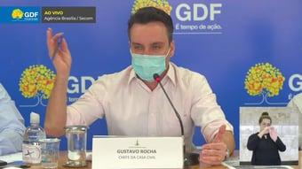 IMAGEM: Vacinação de militares foi feita com base em listas do governo federal, diz chefe da Casa Civil do DF