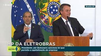 IMAGEM: Bolsonaro cita Ricardo Barros cinco vezes em discurso