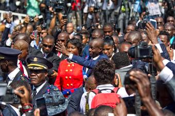 IMAGEM: Haiti solicita envio de forças militares dos EUA