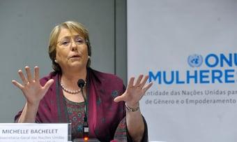 """IMAGEM: Situação do Brasil é """"preocupante"""", diz comissária da ONU para Direitos Humanos"""