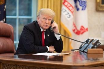 IMAGEM: Trump pressionou Departamento de Justiça para declarar fraude na eleição, diz jornal