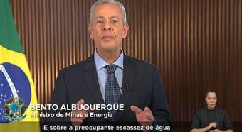 IMAGEM: Ministro de Minas e Energia defende redução no uso do chuveiro