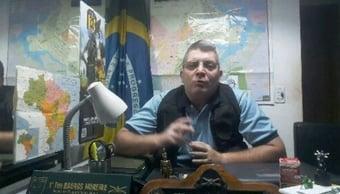 IMAGEM: Bolsonarista que prega 'guerra' ao STF é treinado pelo Ministério da Defesa