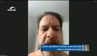IMAGEM: Cid Gomes sem camisa