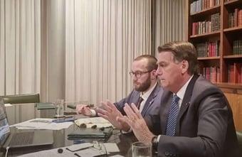 IMAGEM: Inquérito sigiloso foi postado por irmão de ajudante de ordens de Bolsonaro em rede social