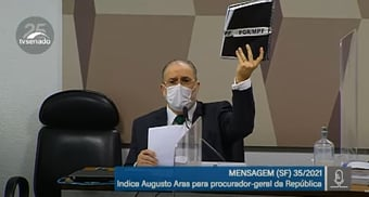 """IMAGEM: Aras: """"Não faltou atuação da PGR e do PGR em nenhum momento"""""""