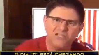 IMAGEM: Comediante Batoré pede fechamento do STF e do Congresso