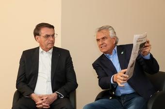 IMAGEM: Caiado desmente Bolsonaro sobre ICMS dos combustíveis