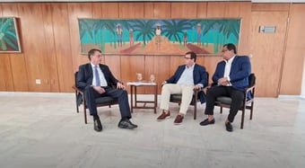 IMAGEM: Bolsonaro: há 99,99% de chance de ter ocorrido fraude em São Paulo