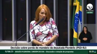 IMAGEM: Urgente: Câmara cassa mandato de Flordelis