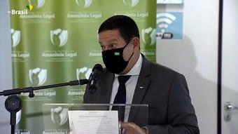 """IMAGEM: Mourão, sobre caixa-preta bilionária das multas ambientais: """"Vou procurar ver o que eu posso fazer"""""""