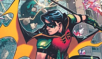 IMAGEM: Robin é bissexual em nova HQ de Batman