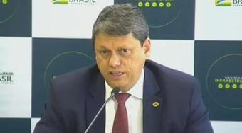 IMAGEM: Tarcísio de Freitas diz que pode disputar Senado