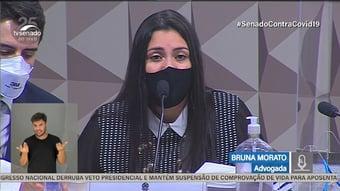 """IMAGEM: Advogada diz que Prevent defendia cloroquina como """"pílula de esperança"""" contra lockdown"""