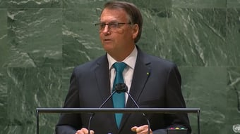 """IMAGEM: Bolsonaro diz que atos de 7 de Setembro foram """"os maiores da história"""""""