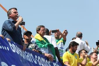 IMAGEM: Ato de Bolsonaro na Paulista teve 150 soldados do Exército à paisana