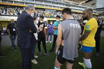 IMAGEM: CBF diz que avisou Argentina três vezes sobre veto a jogadores vindos da Inglaterra