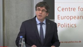 IMAGEM: Líder separatista da Catalunha é preso na Itália