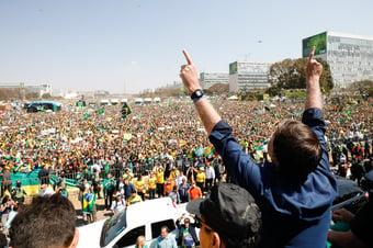 IMAGEM: PGR diz que Bolsonaro iniciou convocação para atos de 7 de Setembro