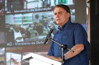 IMAGEM: Preço do botijão de gás vai cair pela metade, 'se Deus quiser', diz Bolsonaro