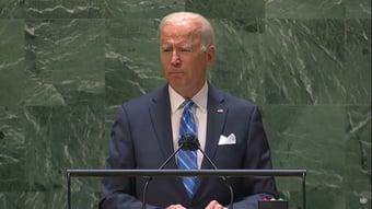 IMAGEM: Biden: estamos nos aproximando de ponto sem volta na crise climática