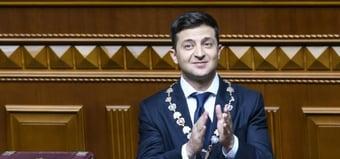 IMAGEM: Assessor de presidente ucraniano sofre atentado